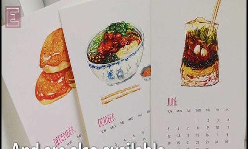 """Vietnam Must-Eat"" postcards"
