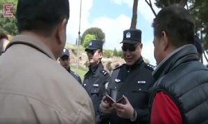 Chinese police hit the beat to patrol the streets of ... Rome, in Italy
