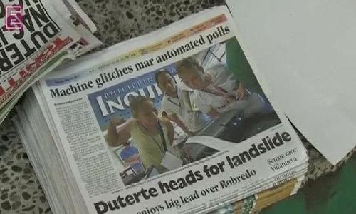 Duterte leads Philippines polls
