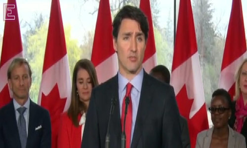 Trudeau to visit fire-ravaged Canadian city