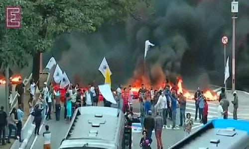 Protests in Brazil amid impeachment turmoil