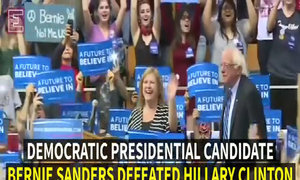 Sanders beats Clinton in West Virginia primary