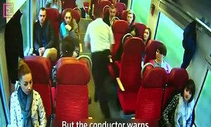 Polish train conductor dashes past passengers warning of imminent crash