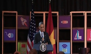 Obama's messages to Vietnamese start-ups