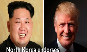 North Korea says it backs Donald Trump in U.S. election race
