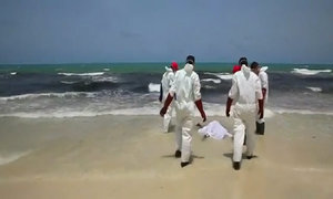 Over eighty migrant bodies wash up on Libya's shore