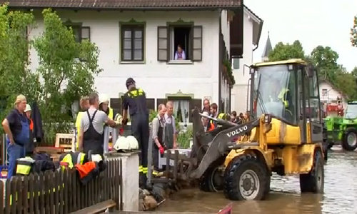 State of emergency declared in part of Germany after heavy rainfall floods