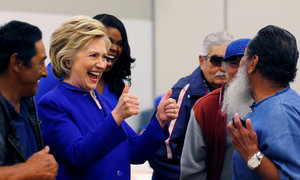 Clinton reaches number of delegates needed to clinch Democratic nomination
