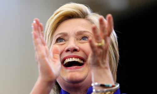 Clinton secures Democratic nomination: AP