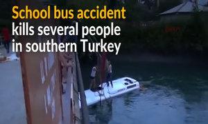 Turkish school bus accident kills several people
