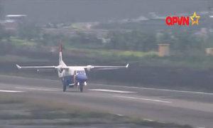 Footage of Vietnam's CASA rescue plane few hours before crash