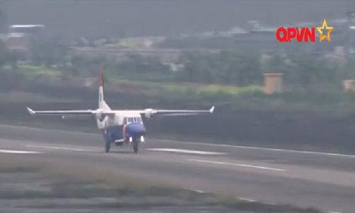 Máy bay CASA trước khi gặp nạn