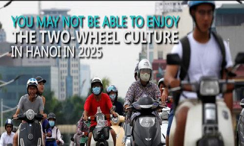 Surviving 2025 motorbike ban Hanoi style