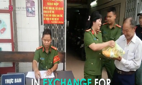 How to swap a grenade for a bag of sugar in HCMC