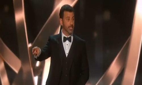 Trump gets skewered at TV's Emmy awards