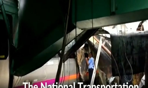 New Jersey train crash kills 1, injures more than 100