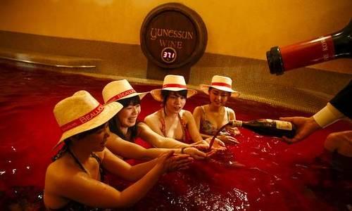 Japan's wine lovers bathe in Beaujolais Nouveau
