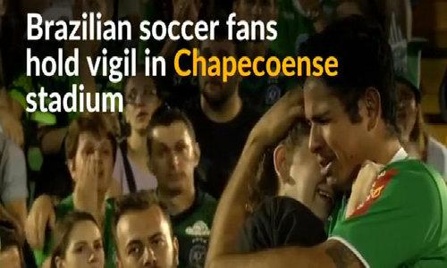 Brazilian soccer fans mourn Chapecoense air crash victims