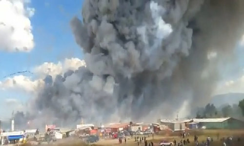 Deadly Mexico fireworks market explosion caught on video