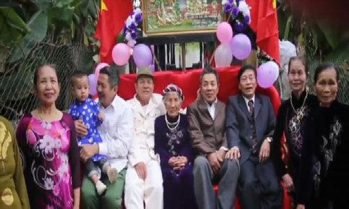Granny celebrates 100th birthday on forklift