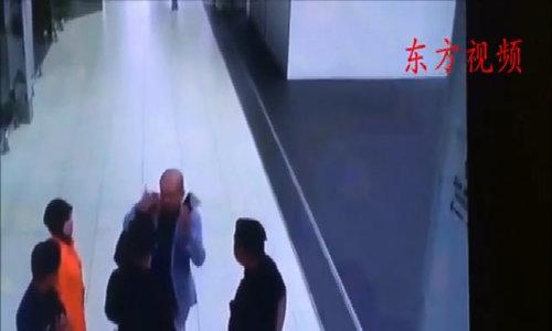 CCTV camera footage of the Kim attack