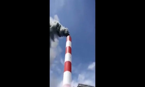 Explosion at Vietnam power plant