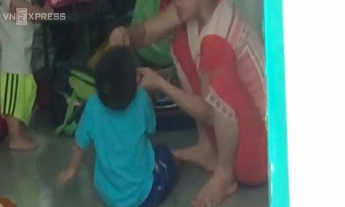 Shocking video exposes violent feeding at Saigon kindergarten