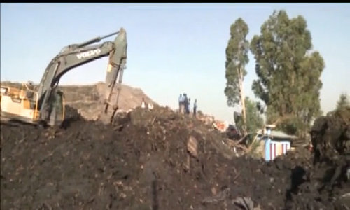 Rescue underway after garbage dump collapses in Ethiopia's capital