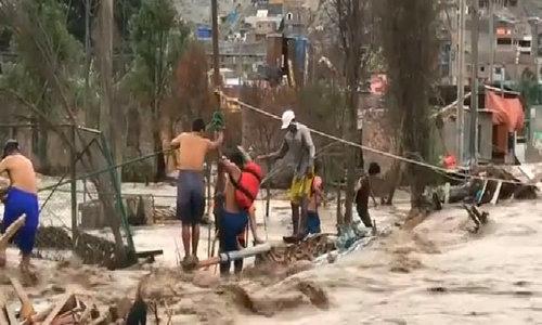 Deadly floods ravage Peru