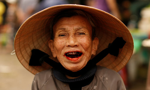 How happy Vietnamese people think they are