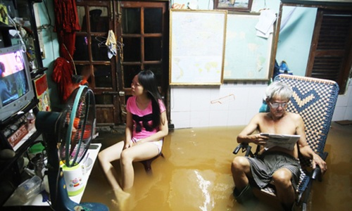 Saigon to spend trillions to fix drainage system