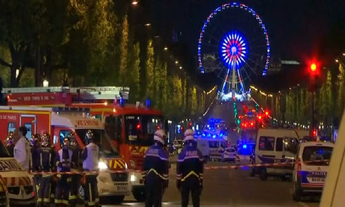Eyewitness to Paris shooting describes hiding in shop