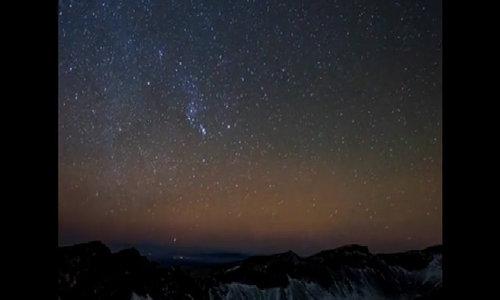 Geminids meteor shower lights up China sky