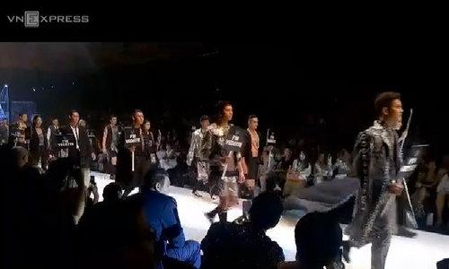 Catwalk at Vietnam Int'l Fashion Week