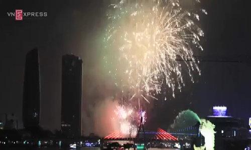 Da Nang fireworks festival 2015