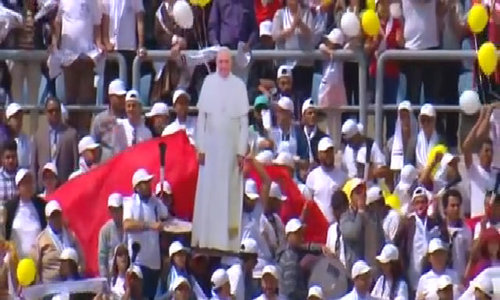 Pope, at Cairo Mass, urges unity against fanaticism