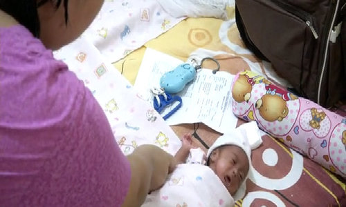 Free incubators save lives of Indonesian babies