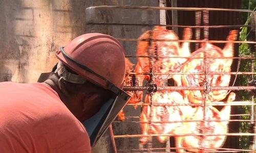 Thai solar chicken is a hot hit