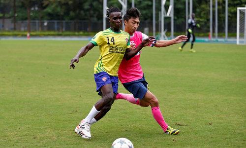 Hong Kong's refugees find comfort through love of soccer