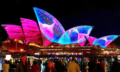 Sydney lights up for its annual Vivid Festival