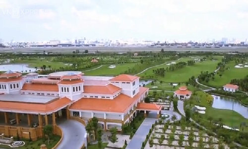 Take a swing over controversial golf course next to congested Saigon airport