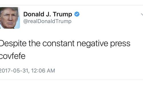 New exhibit puts Trump's tweets on display in humorous way