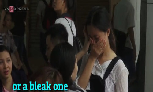 Prepare to sit the biggest exam in Vietnam