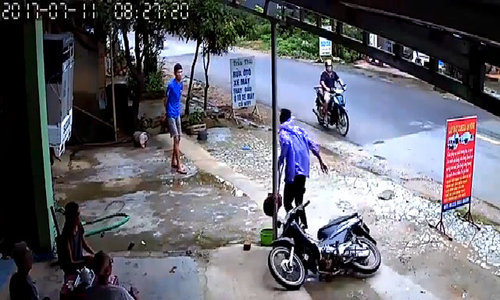 Chinese man arrested for stealing motorbike in northern Vietnam