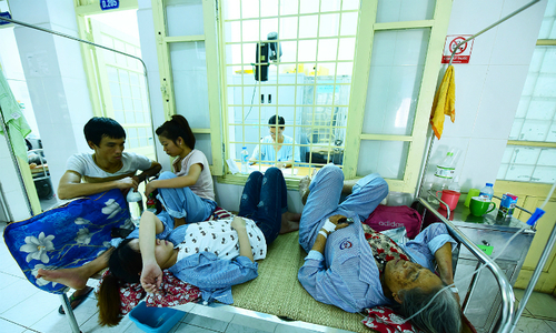 Hanoi hospitals overloaded by dengue fever patients