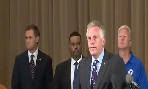 "Virginia governor to white supremacists: ""Go home"""