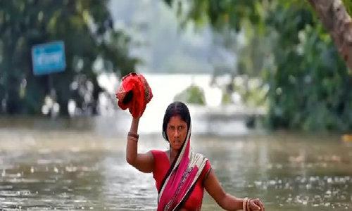 Far from Texas, Indian floods kill 500