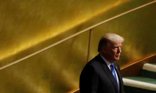 Trump warns U.S. may have to 'totally destroy' North Korea