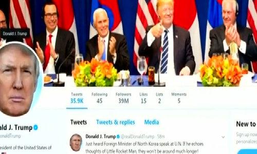 Trump tweets threats against North Korea after U.N. speech