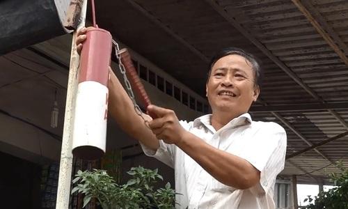 The alarm bells that guard a Saigon commune
